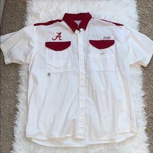 Men's Columbia Alabama short sleeve